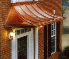 Love This Copper Awning