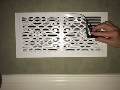 This ReVent Covers-Decorative Magnetic Wall Vent Covers is just one of the custom, handmade pieces you'll find in our wall décor shops. Home Improvement Projects, Home Projects, Home Renovation, Home Remodeling, Camper Renovation, Wall Vent Covers, Vent Covers Decorative, Floor Vent Covers, Magnetic Wall
