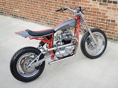 Glenn's Triumph 650 Tracker - The Bike Shed Flat Track Motorcycle, Flat Track Racing, Tracker Motorcycle, Scrambler Motorcycle, Bobber, Triumph 650, Triumph Motorcycles, British Motorcycles, Cool Motorcycles
