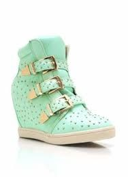 Image result for wedge sneakers with spikes