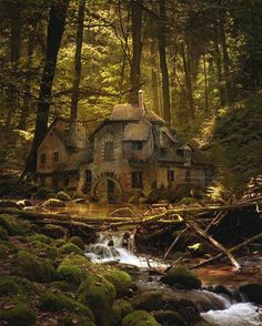"This has got to be my favorite ever since the first time I saw it. ~ M.S.M. Gish ~ Germany ~ Miks' Pics ""Houses"" board @ http://www.pinterest.com/msmgish/houses/"