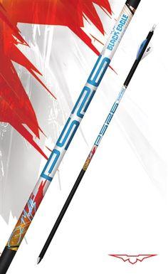 PS26 Carbon Target Arrow Shafts by Black Eagle Arrows