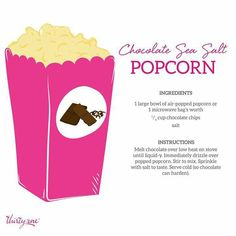 Thirty-One Gifts - More than just a bag. Air Popped Popcorn, Pop Popcorn, 31 Gifts, Thirty One Gifts, 31 Party, Facebook Party, Meals For One, Melting Chocolate, Sea Salt