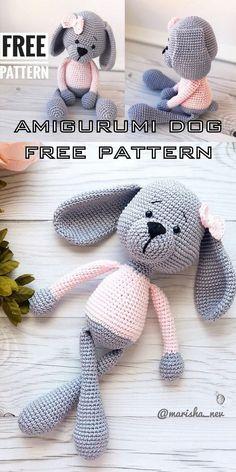 Amigurumi Sweet Dog Free Crochet Pattern - Amigurumi Crochet