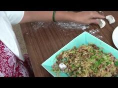 今日素菜-芥醬素餃子 Chinese Vegan Dumplings - YouTube