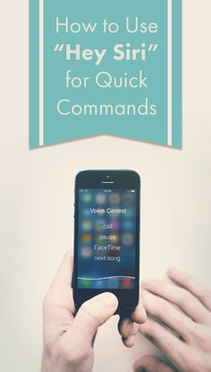 "Learn how to use ""Hey Siri"" function on your iPhone or iPad so you can access her commands hands-free."