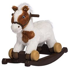 Rockin Rider Carrot 2in1 Pony Plush RideOn Painted ** Be sure to check out this awesome product.
