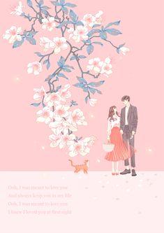 Love Cartoon Couple, Anime Love Couple, Cute Anime Couples, Cute Couple Drawings, Cute Couple Art, Couple Illustration, Fantasy Illustration, Animated Love Images, Wattpad