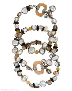 Jewelry Box by Silpada Designs | Bracelets | Icon Triple-strand Stretch Bracelet