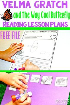 Fun reading lesson plans for Kindergarten, 1st, & 2nd! Engage your students with these reading comprehension lessons, a craft, and a FREE FILE! #velmagratch #reading #readingcomprehension #springteachingideas