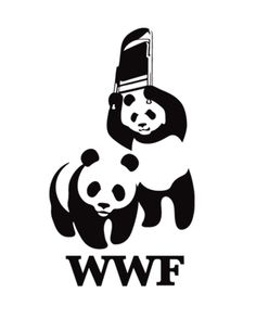 WWF Wrestling Pandas @ That Awesome Shirt!