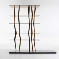 Sendai Crystal is the new glass version of the famous bookcase-sculpture that…