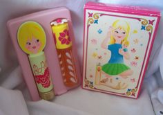 Vintage AVON Child 1970s Miss Lollypop Set 'Pretty Me'. Mint in Box Rollette & Lip | eBay