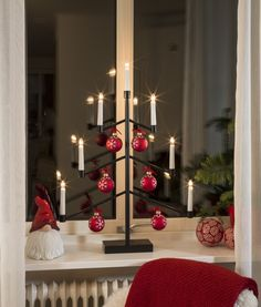 Decorate your own Christmas Tree Candlestick!