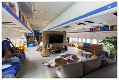 Check out KLM's new airplane apartment. http://klmf.ly/1Gg2rmn