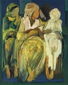 Les Quatre Femmes (The Four Women) by Paul Guiragossian