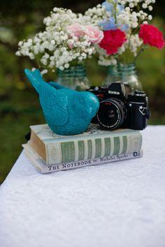 Aqua & Pink Vintage Wedding Inspiration| Photo by: Bellamanda Photography