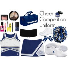 """""""Cheerleading - Competition"""" by eappah on Polyvore"""
