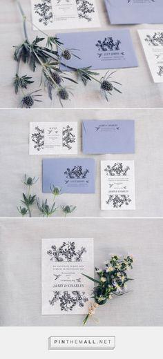 Floral Vintage Wedding Design invitations » Lovers Love Loving
