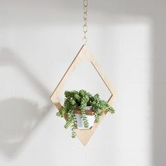 M.F.E.O. Jungalow hanging planter, plus 9 more great home decor buys at West Elm right now