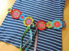 Crochet Belt, Crochet Gloves Pattern, Hippie Crochet, Crochet Bracelet, Cute Crochet, Crochet Stitches, Knit Crochet, Crochet Jewelry Patterns, Crochet Square Patterns