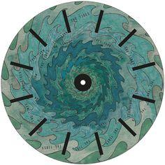 Animated phenakistoscope discs featuring life's fleeting moments by Tree x Three. #phenakistoscope, #noveltygift, #animation