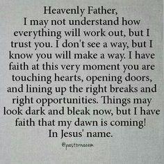 Amen! I believe it and receive it! ~