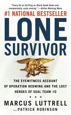 Lone Survivor book by Marcus Luttrell