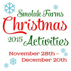 Sarah Jordan Photography Whether keeping a long standing tradition or starting a brand new one, Smolak Farms is wonderful Christmas family destination! From trees, to cookies, we have all you need to get you and your home ready for this … Continue reading →