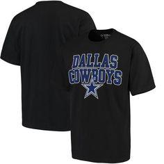 NFL Dallas Cowboys Toned Up Black T-Shirt