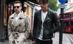 On the street at London Collections