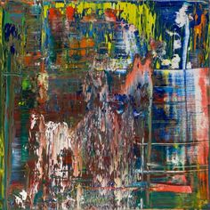 The new works show a wide array of vivid colours and more closely resemble his abstract works from the late 1980s than his more recent works. They also display Richter's characteristical layering of paint.