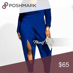 Jumpsuit Kelly Plus Size Jumpsuit, Royal blue, Size 1x Monif C. Pants Jumpsuits & Rompers