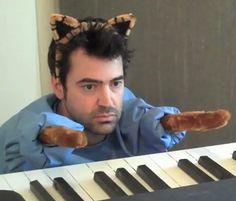 Ron Livingston as Keyboard Cat