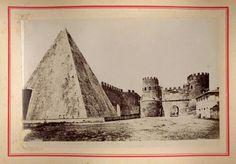 Roma. Piramide di Caio Cestio [1890]