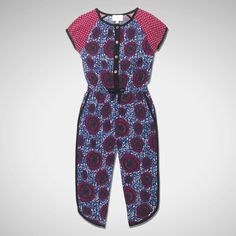 Petit Tribe SS15 Button Up Jumpsuit