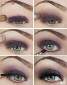 Mega zmysłowy makijaż w głębokim fiolecie - Krok po kroku!!!