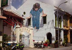 http://www.fubiz.net/2016/07/26/poetic-street-art-by-ernest-zacharevic/?utm_source=feedly