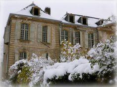 Winter at Chateau de Gudanes
