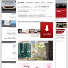 Konzept & Design und Umsetzung STEINBERG DESIGN Kunde: ROSE-HANDWERK  Joachim Rose KG