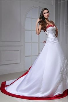 Sweep train White Classic Sleeveless Destination Wedding ball gown