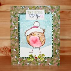 Introducing the very popular 'Round Robins' designed by the very talented Sharon Bennett. Card by Sharon Bennett