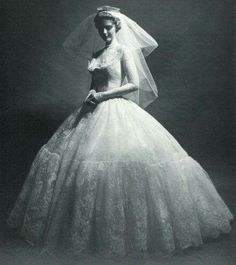 1949 bridal gown