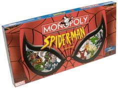 Spider-Man Monopoly → Own it ☑