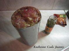 Szynkowa z Marynowanym Zielonym Pieprzem Home Made Sausage, Kielbasa, Polish Recipes, Ale, Recipies, Food And Drink, Pudding, Easter, Homemade