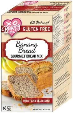 XO Baking Co Bread Mix, Banana, 10.3-Ounce ** Once in a lifetime offer : baking desserts recipes