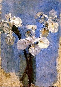 Irises (ca. 1910) - Piet Mondrian