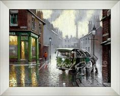 """"""" Bin Day """" New nostalgic fine art print by E. Anthony Orme.  Select your art print in colour or black and white. Choose a frame and mount (mat) to suit your house decor and have your art delivered to your door or click and collect from the E Anthony Orme Gallery and Picture Framers at 284 Stand Lane, Radcliffe, Manchester, M26 1JE United Kingdom. Tel: 0161 7669991  http://www.eanthonyorme.com/shop/e-anthony-orme/prints-34/bin-day.html…"""