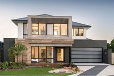 The Odyssey: 4 Bed, 2 Bath, Wide Display Home - National Homes Modern House Floor Plans, Contemporary House Plans, Modern House Design, Two Storey House Plans, 2 Storey House Design, Storey Homes, Display Homes, Build Your Dream Home, Home Design Plans