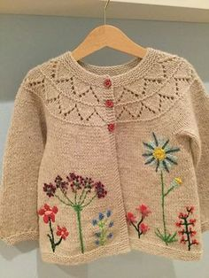 Free Knitting Patterns for Toddlers Cardigans How To Start Knitting, Knitting For Kids, Baby Knitting Patterns, Crochet For Kids, Baby Patterns, Free Knitting, Crochet Baby, Knit Crochet, Crochet Children